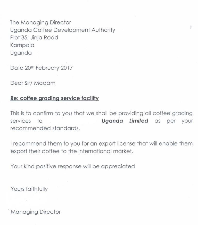 Coffee export- full procedure